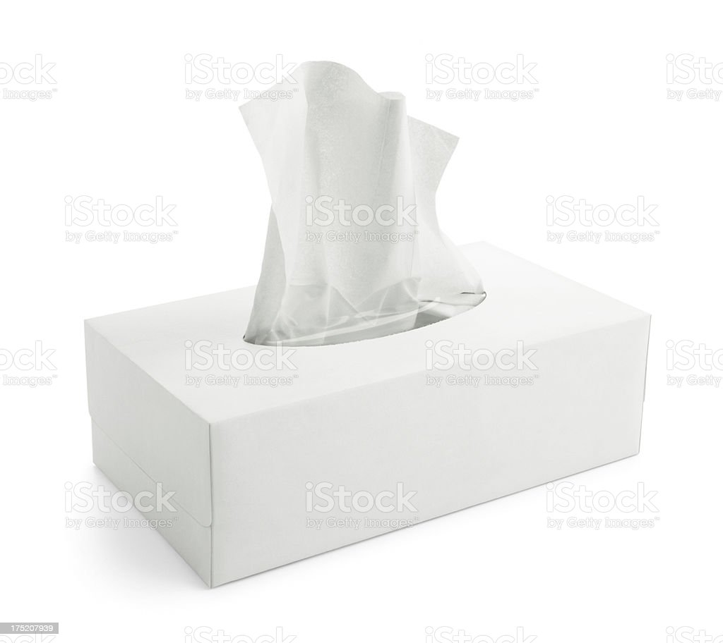 disposable tissue stock photo