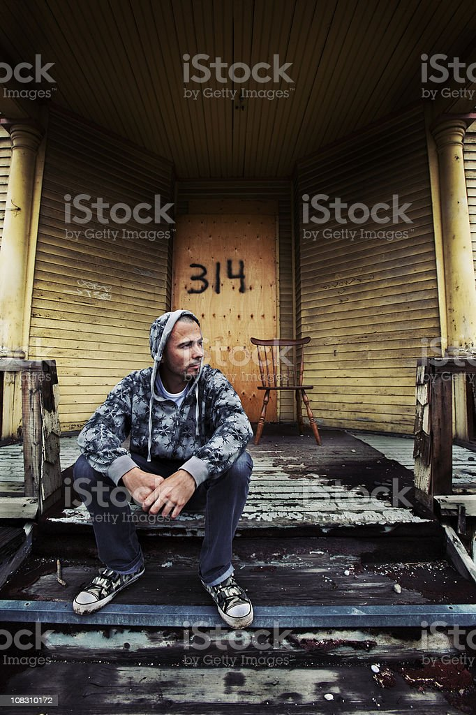 dispossessed royalty-free stock photo