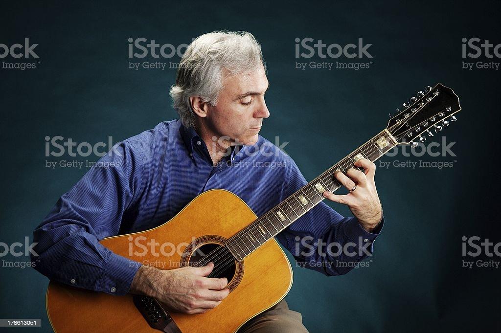 Dissonant Chord stock photo