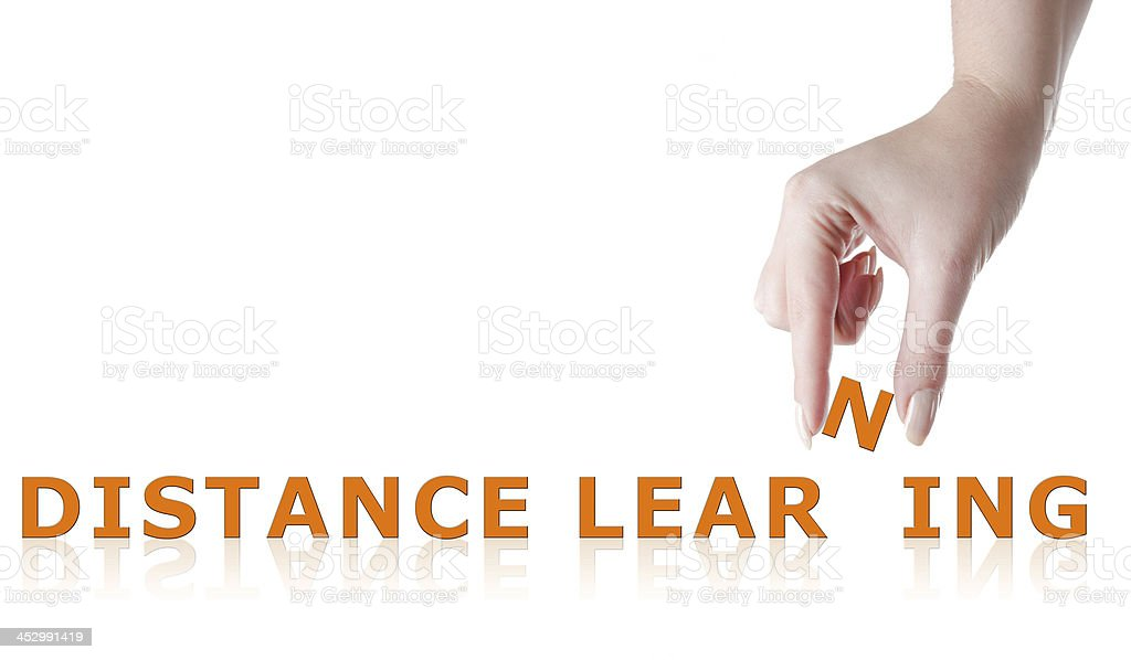 Distance Learning royalty-free stock photo