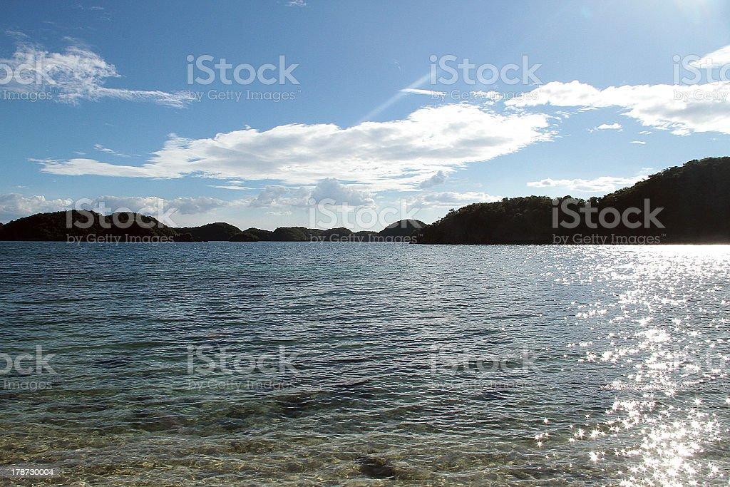 Isole lontane, Filippine foto stock royalty-free