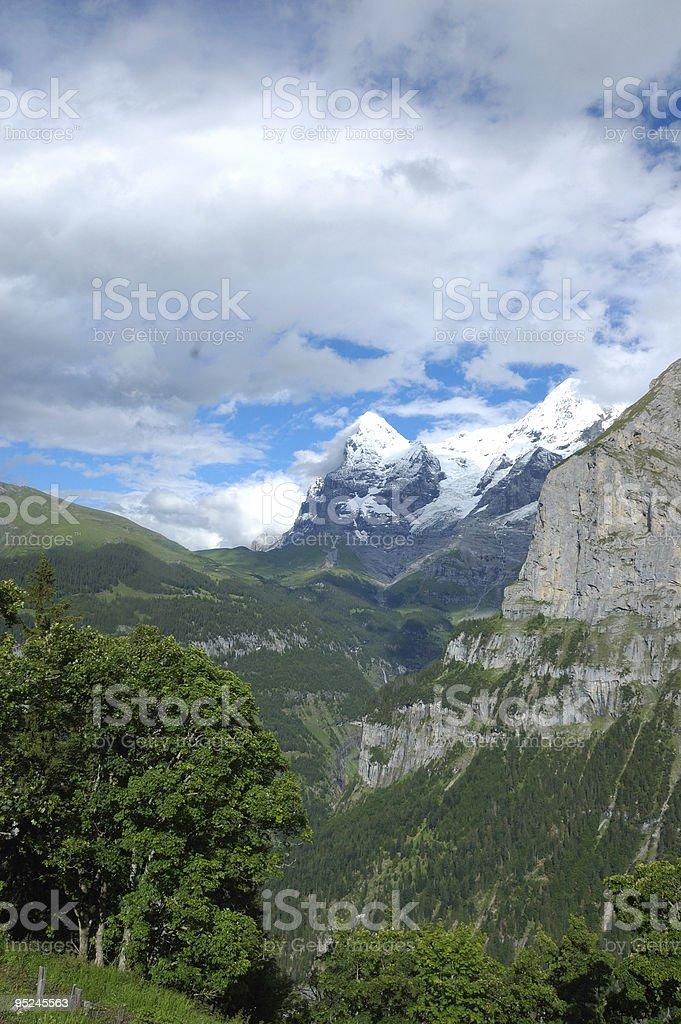 Distant Peak royalty-free stock photo