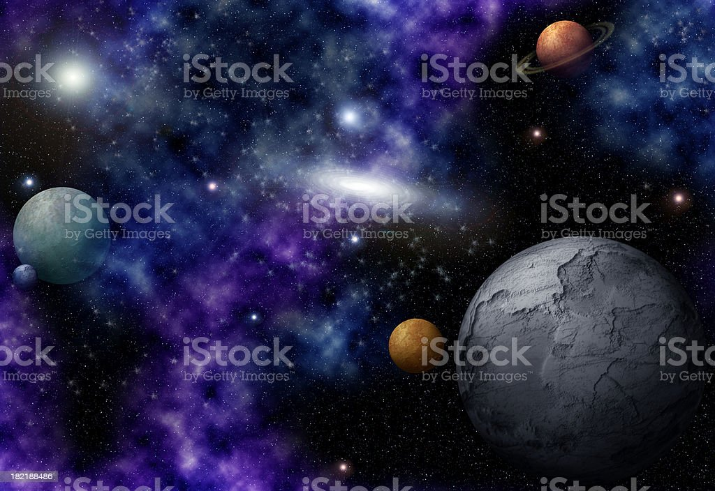 Distant Space stock photo