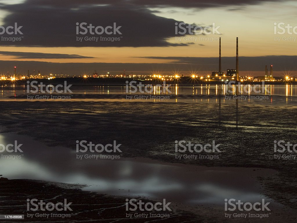 Distant Towers stock photo