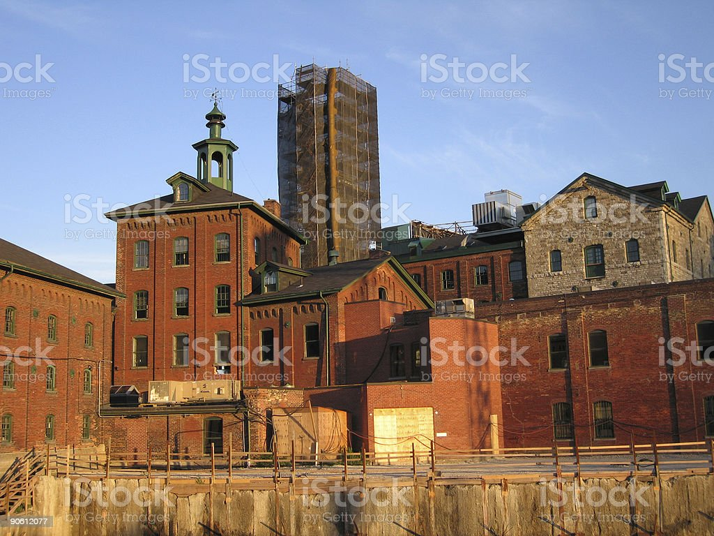 Distillery District Detail royalty-free stock photo