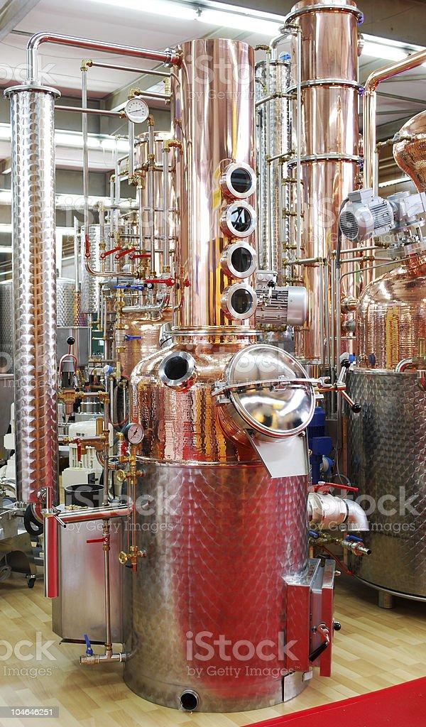 distillery royalty-free stock photo