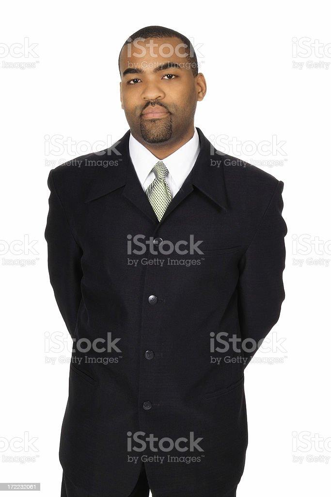Distinguished Businessman stock photo