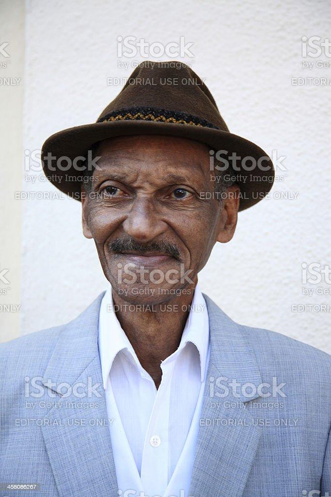 Distinguished Cuban Man royalty-free stock photo