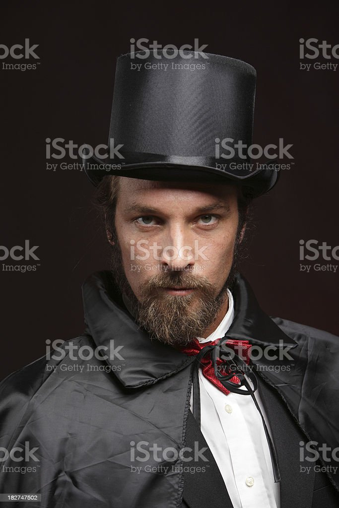 Distinguished Gentleman royalty-free stock photo