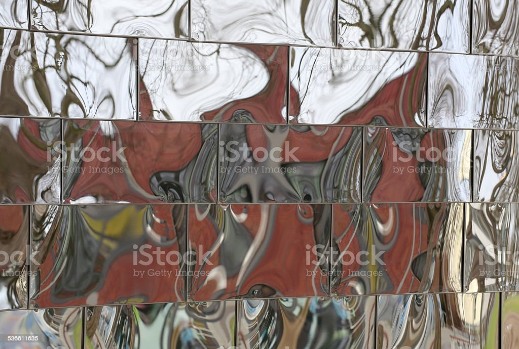 Distorted Reflections stock photo