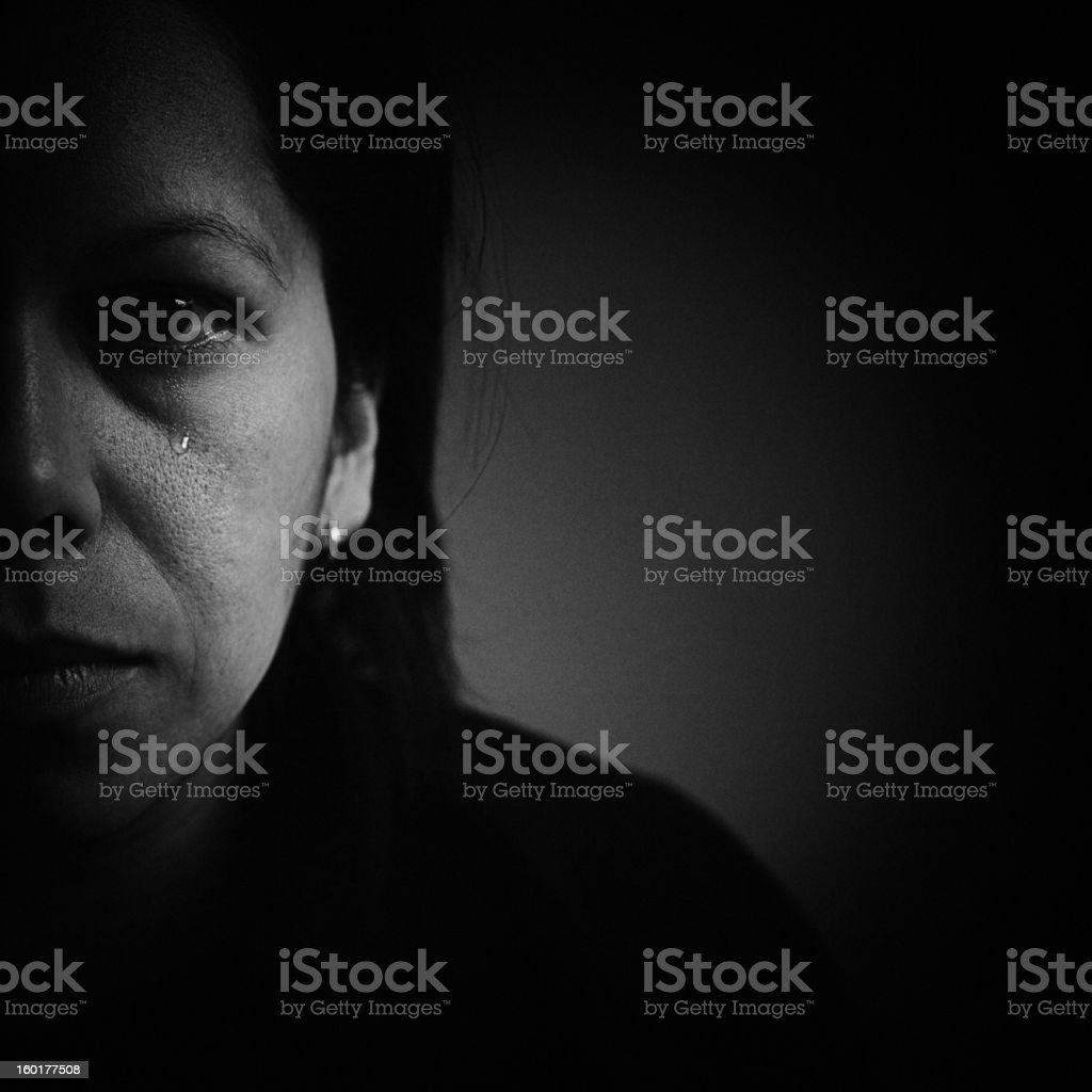 distraught royalty-free stock photo