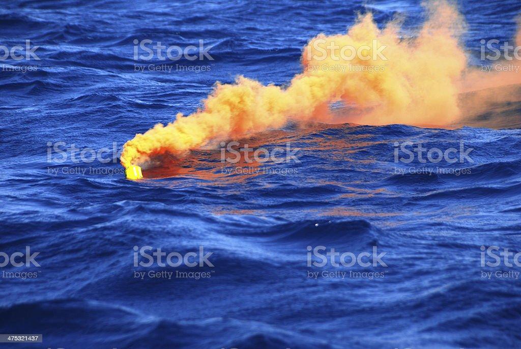 distress flares stock photo