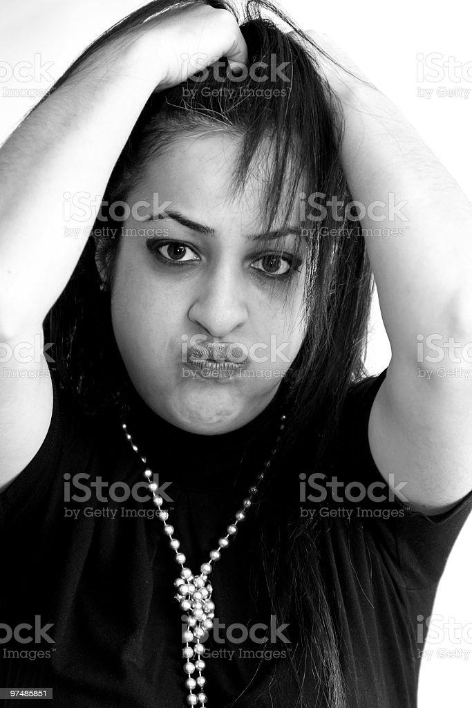 Distress stock photo