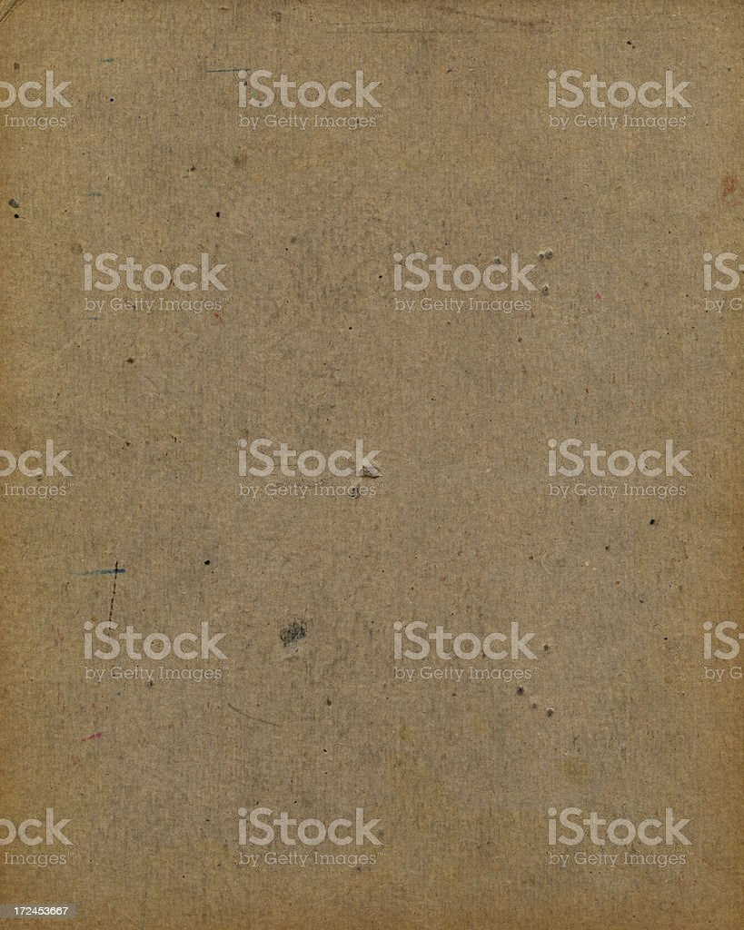 distressed brown cardboard royalty-free stock photo
