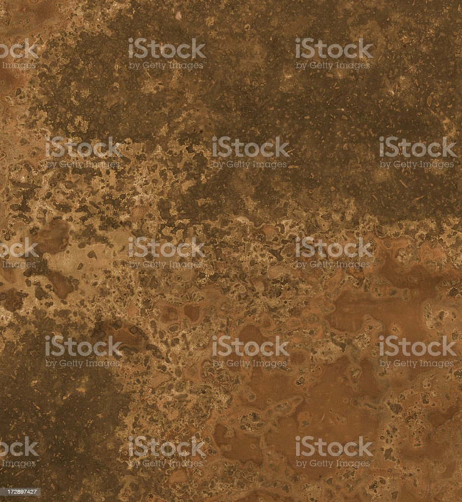 distressed copper surface background texture stock photo