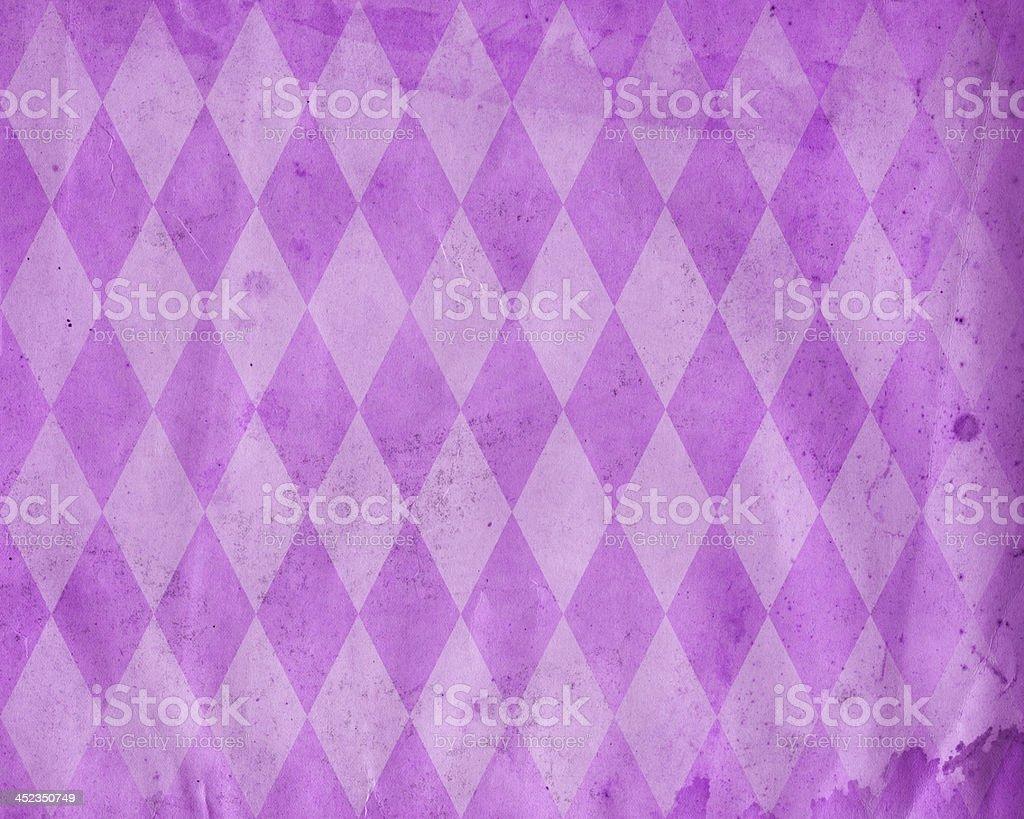 distressed diamond pattern paper royalty-free stock photo