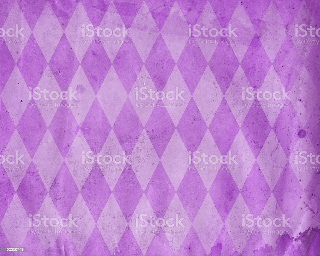 distressed diamond pattern paper stock photo