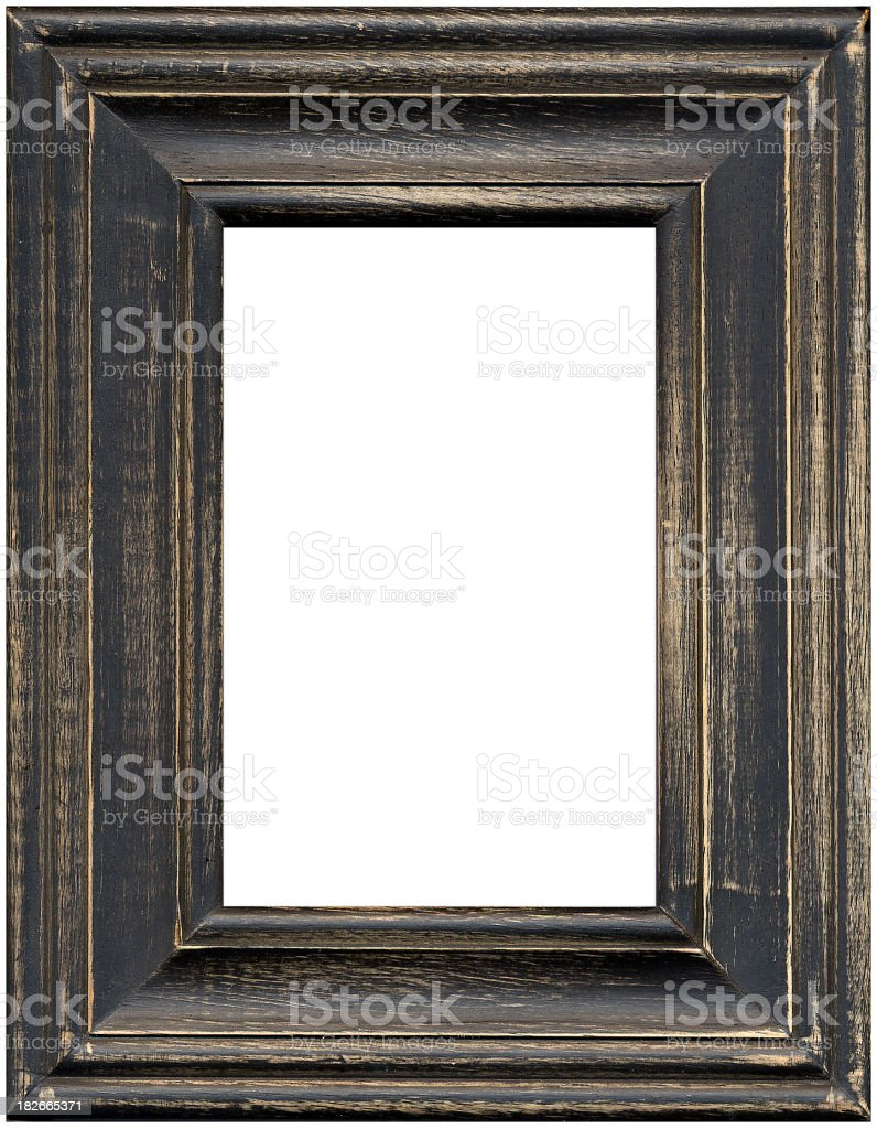 Distressed Frame royalty-free stock photo