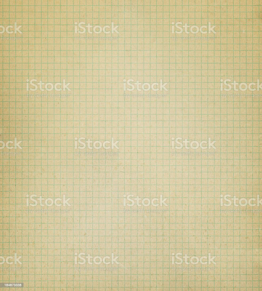 distressed graph paper royalty-free stock photo