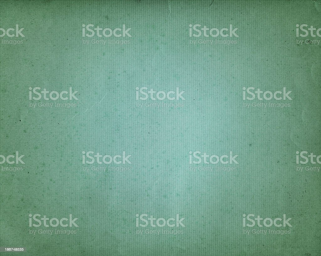 distressed graph paper with vignette royalty-free stock photo