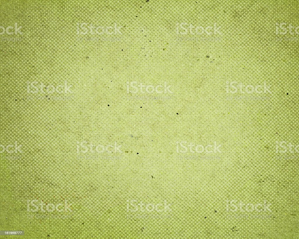 distressed green paper with halftone royalty-free stock photo