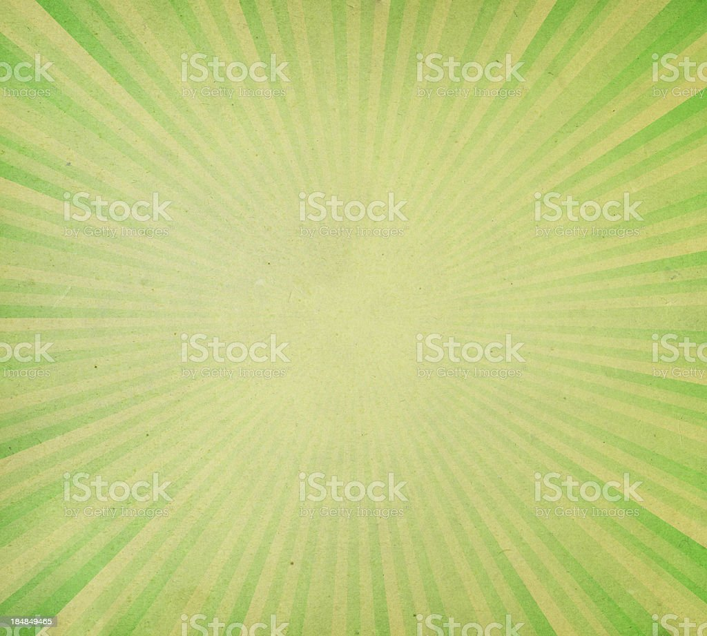 distressed green paper with light rays royalty-free stock photo
