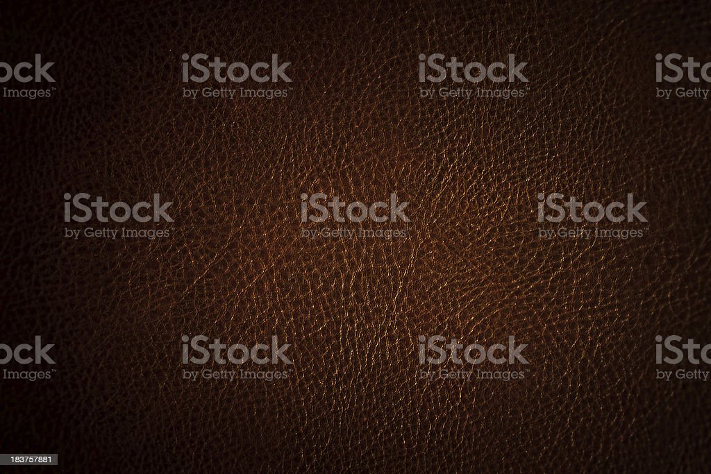 Distressed leather texture stock photo