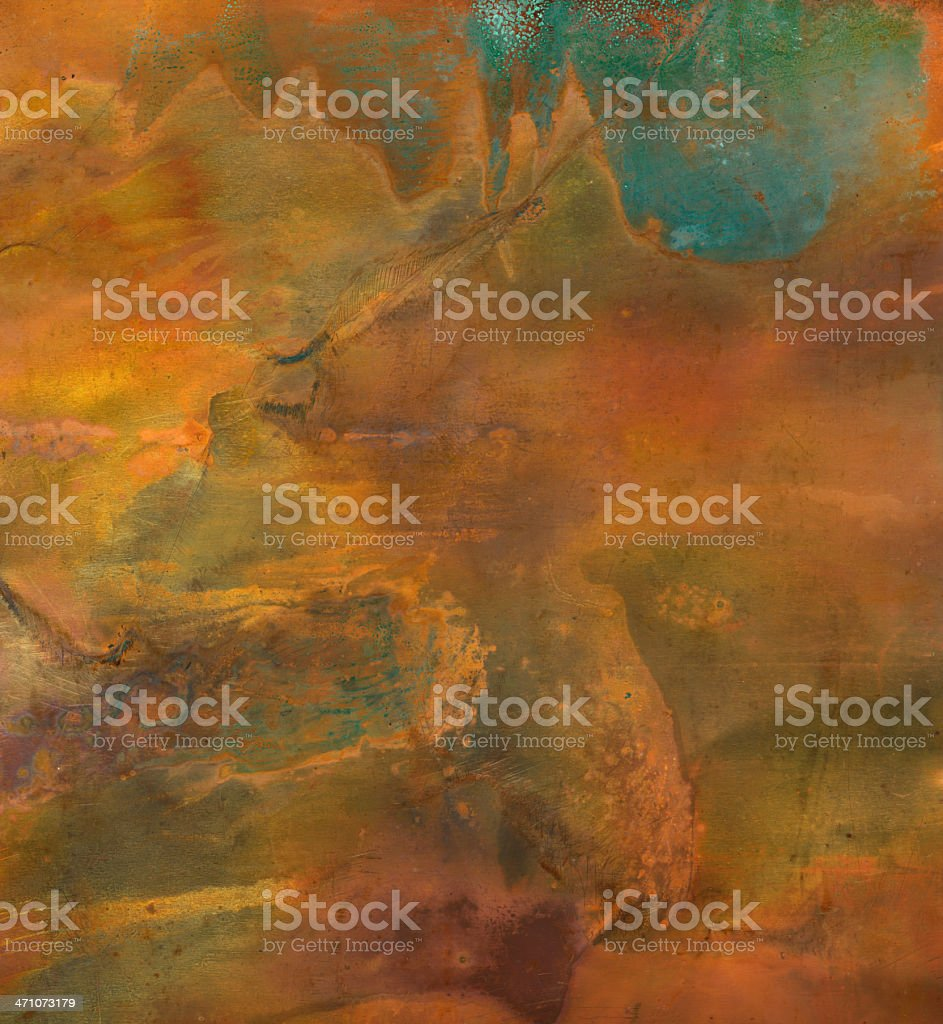 High resolution distressed metal surface stock photo