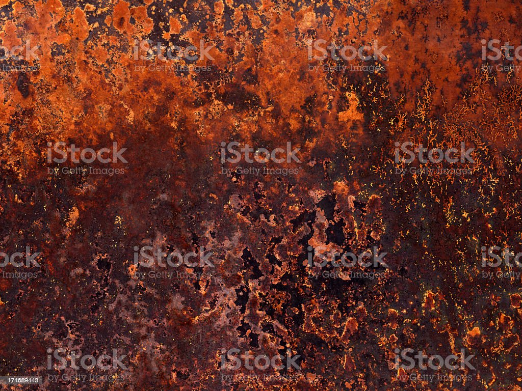 distressed metal wall royalty-free stock photo