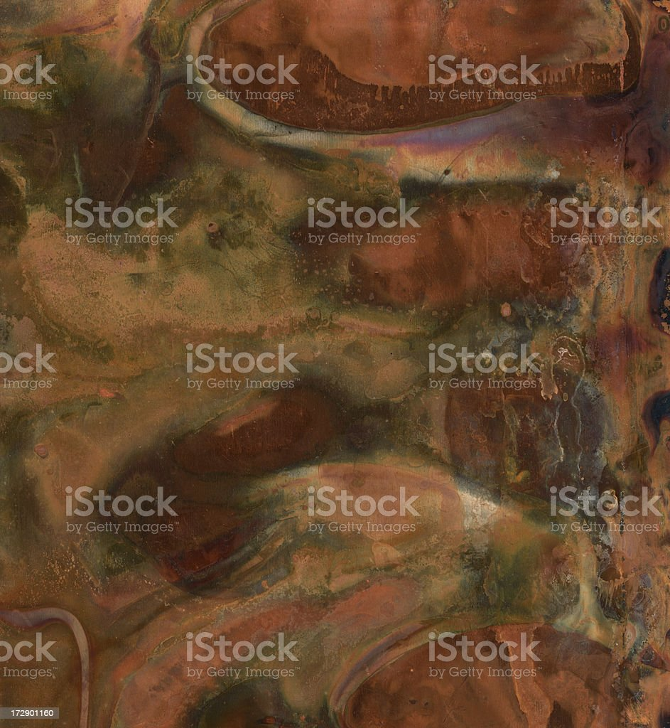 distressed metallic surface royalty-free stock photo