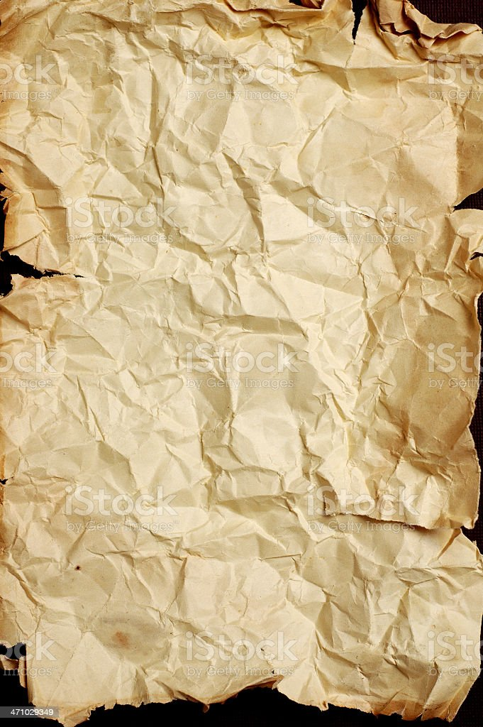 Distressed Old Paper royalty-free stock photo