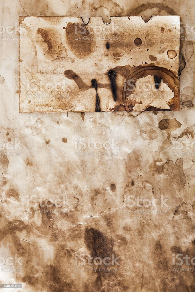 Distressed Paper stock photo