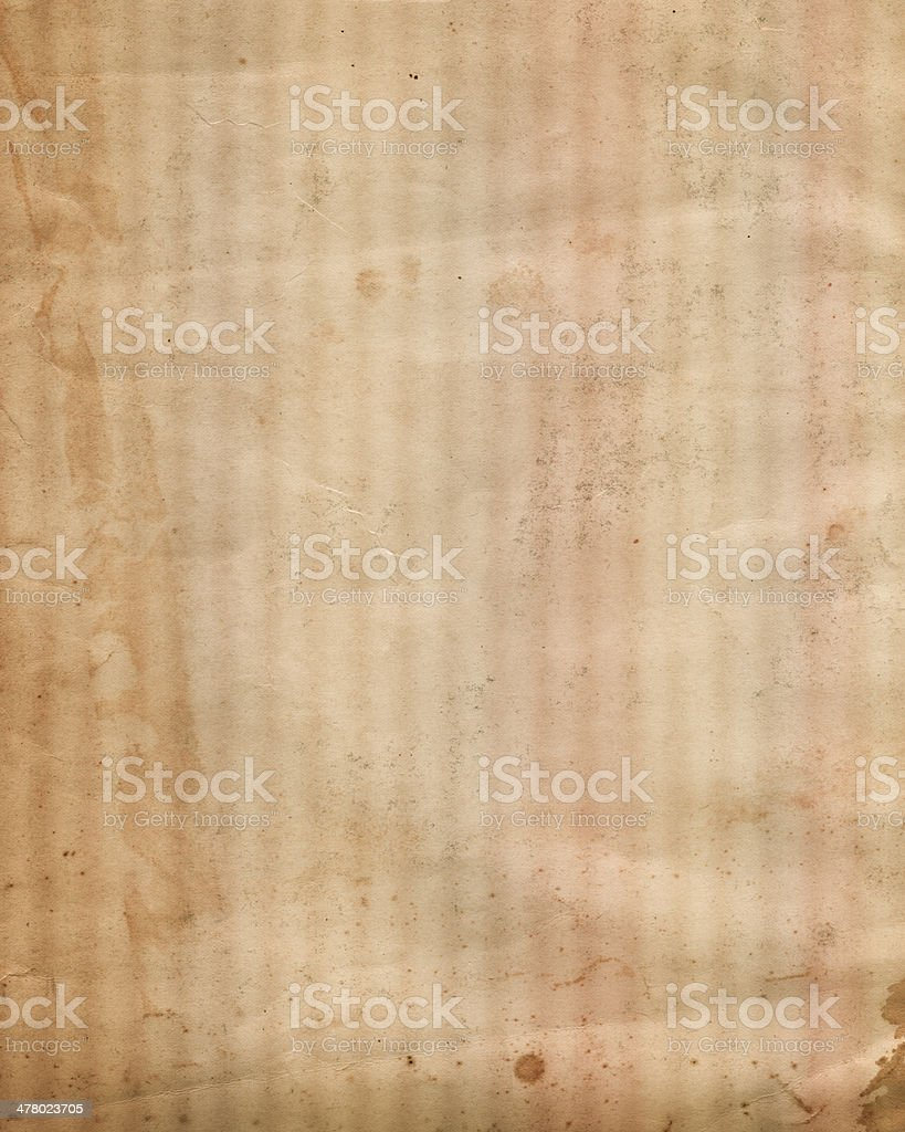 distressed paper with faded lines royalty-free stock photo
