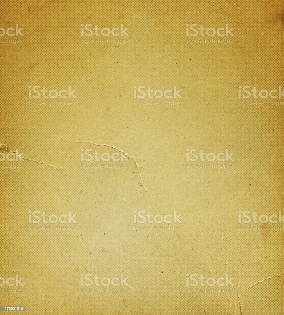distressed paper with halftone pattern royalty-free stock photo