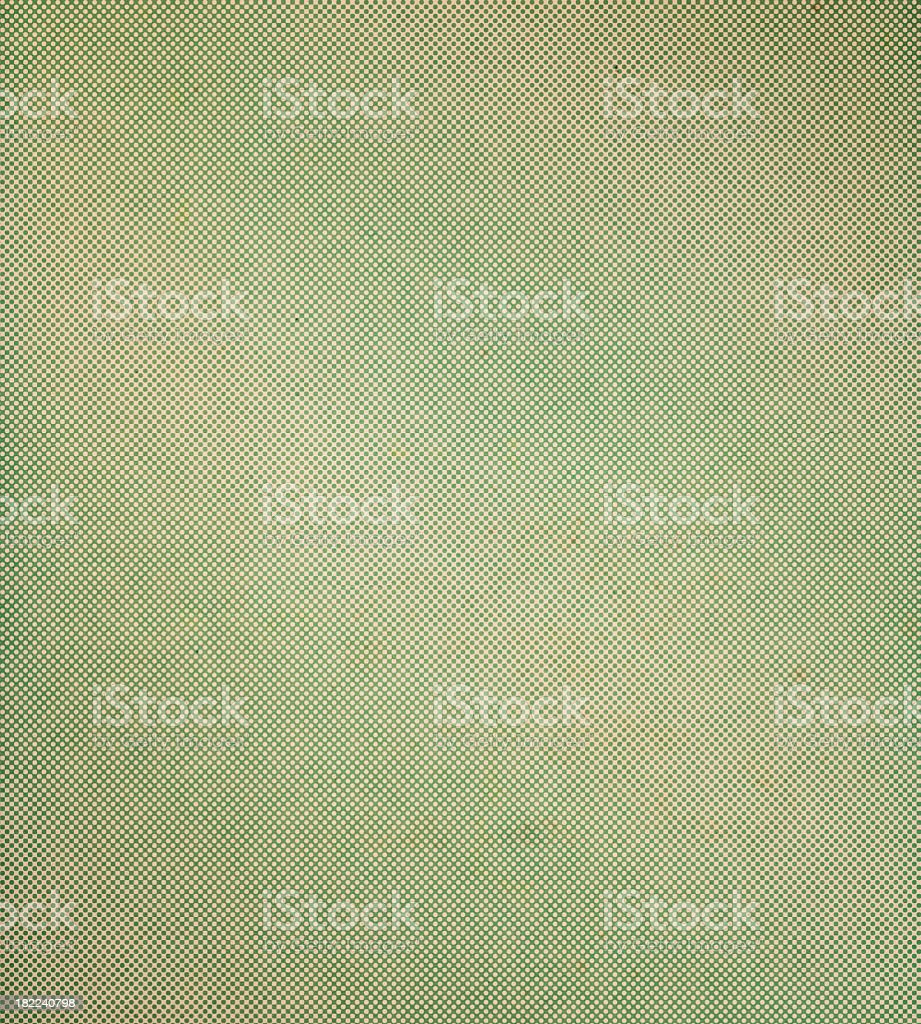 distressed paper with halftone royalty-free stock photo