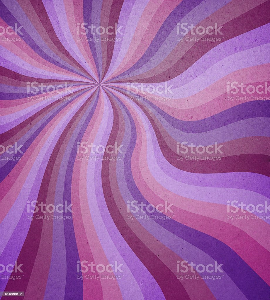 distressed paper with spiral pattern royalty-free stock photo