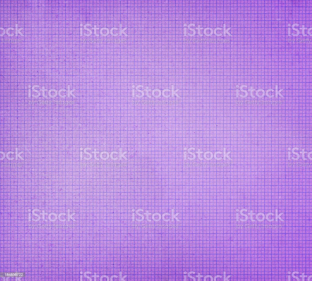 distressed purple graph paper royalty-free stock photo