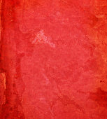 distressed red paper