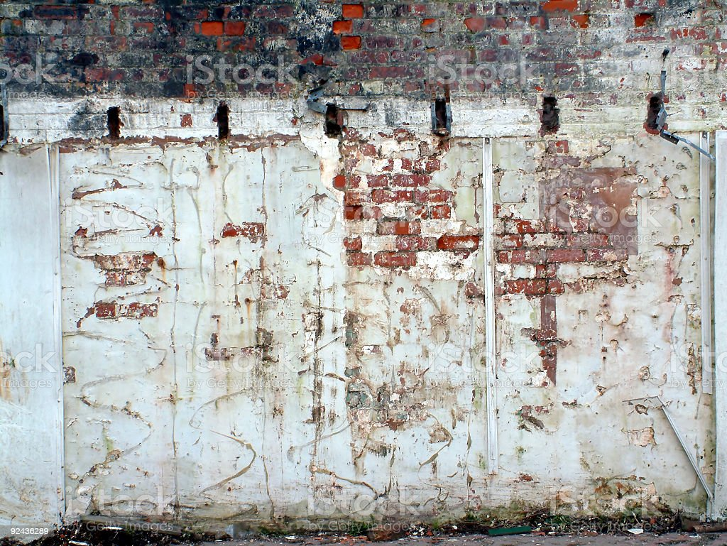 Distressed Wall 2 stock photo