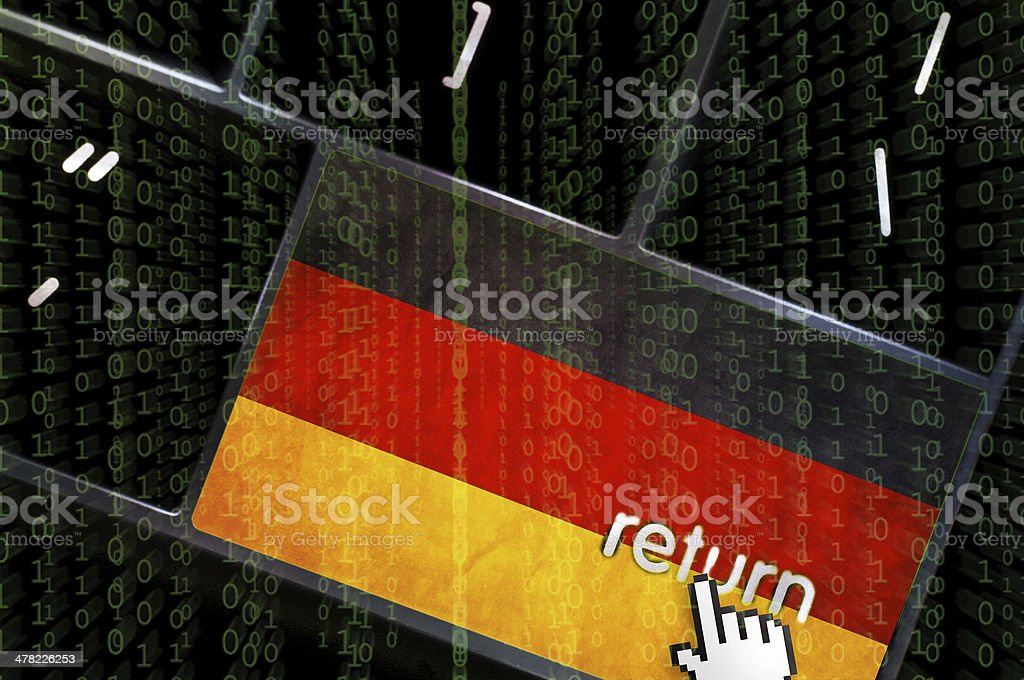 Distributed Denial of service concept stock photo