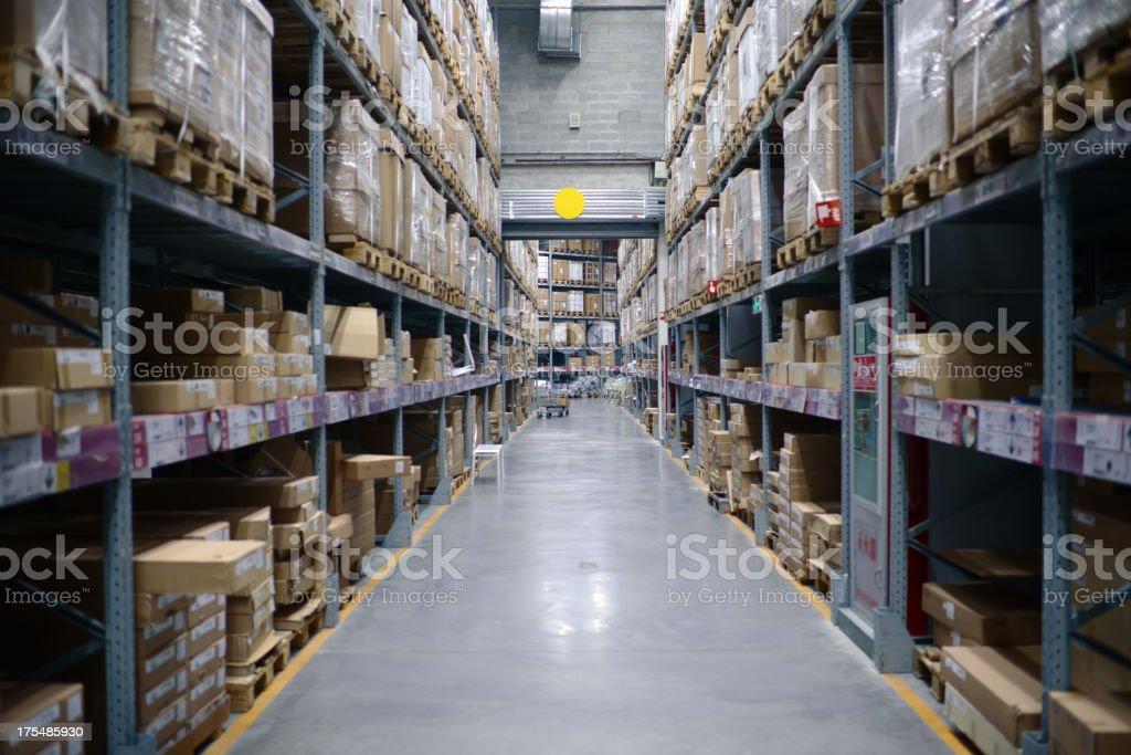 Distribution Center and Warehouse - XXXXXLarge stock photo