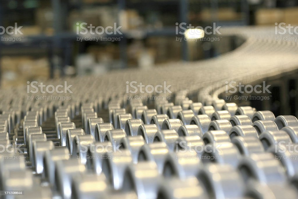 Distribution track royalty-free stock photo