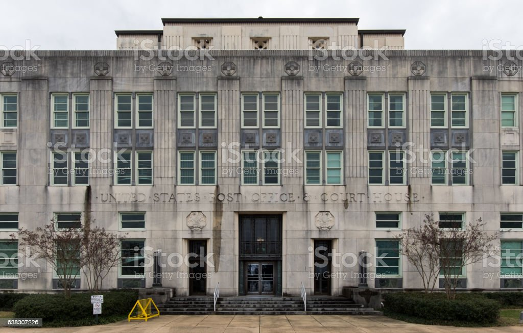 US District Court stock photo