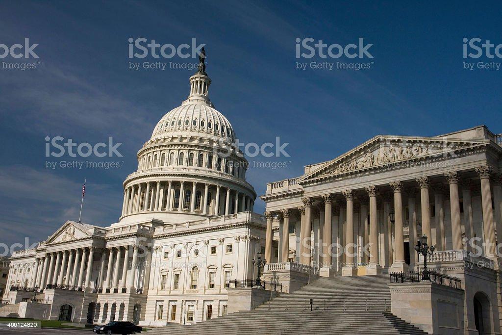 USA - District of Columbia - Washington, United States Capitol stock photo