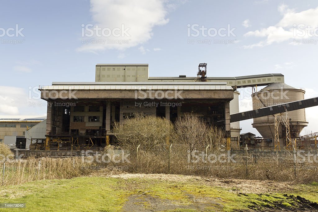 Disused Factory Building, Cheshire royalty-free stock photo