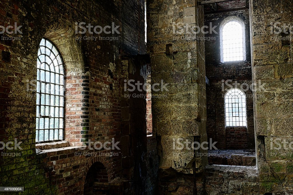 Disused Foundry in Shropshire stock photo