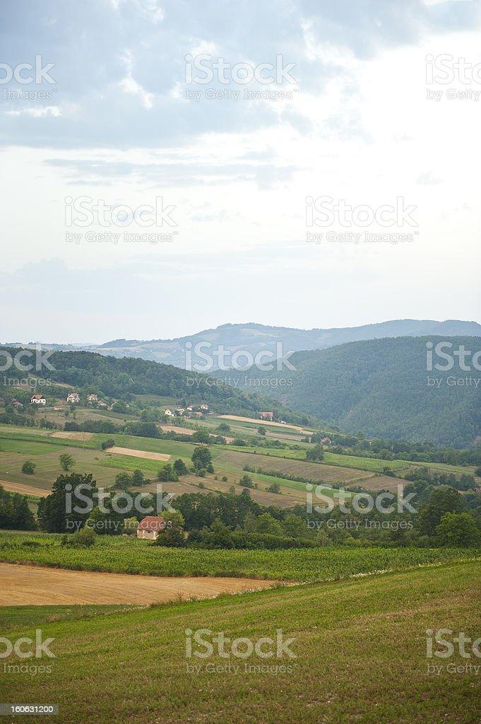 Divcibare , Serbia stock photo