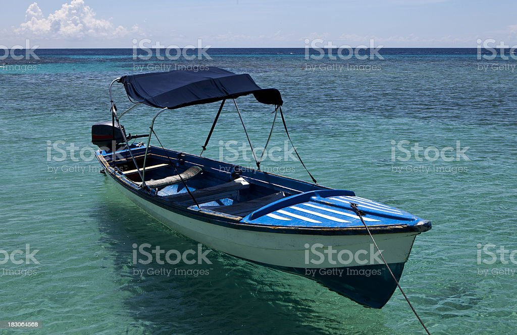 Dive Boat royalty-free stock photo