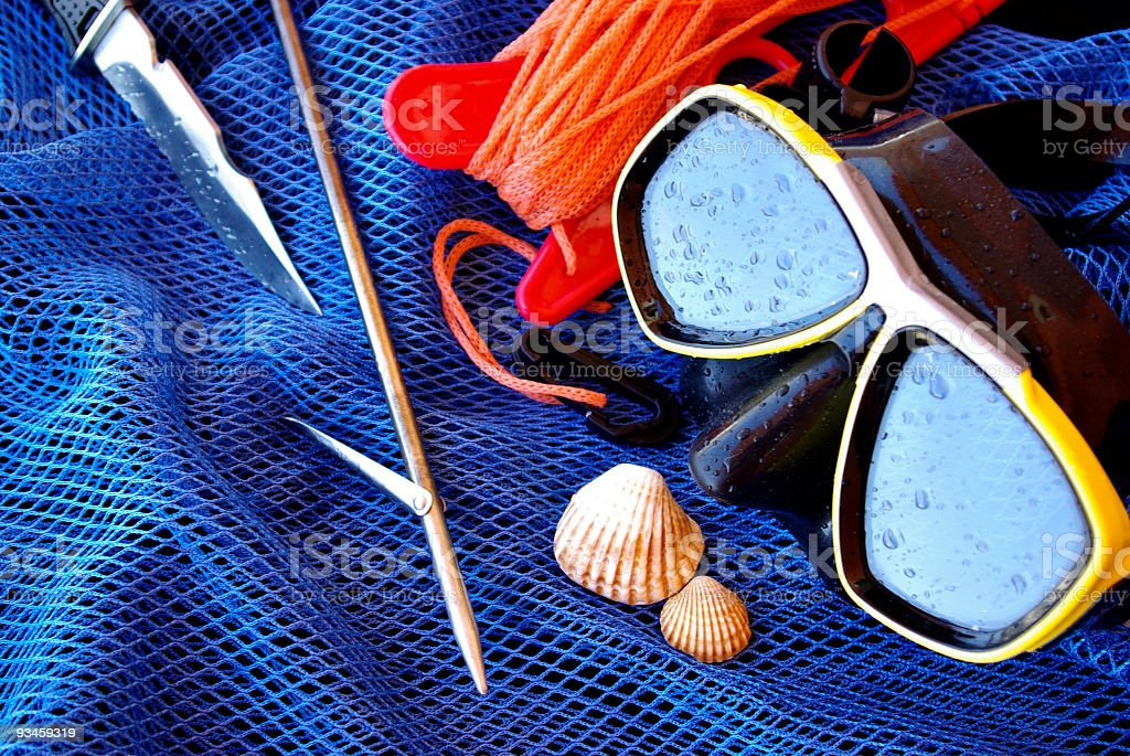 Dive Gear royalty-free stock photo