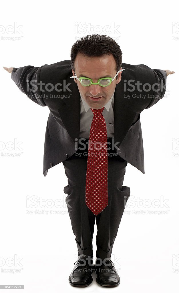 Dive in royalty-free stock photo